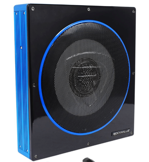 Rockville RW10CA - Powered Car Subwoofer