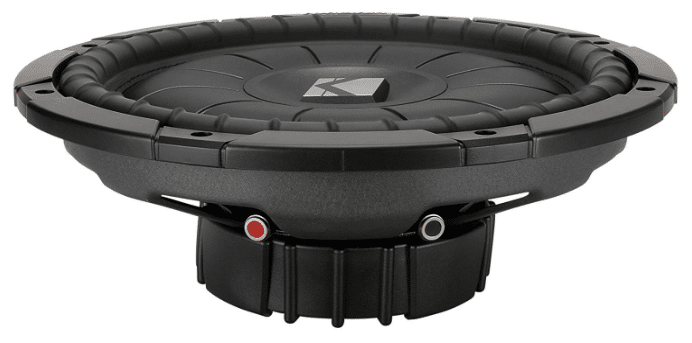 Kicker CVT124 Shallow Mount Subwoofer