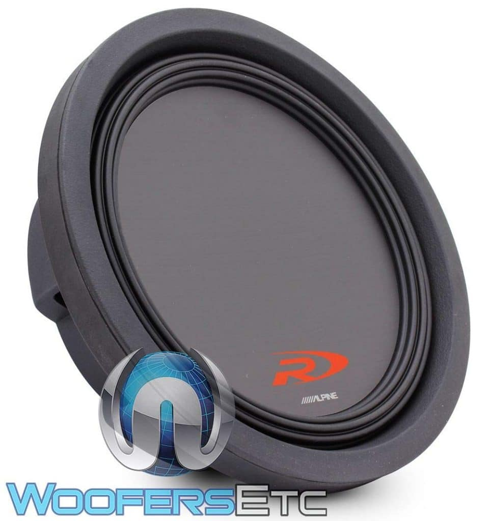 Alpine Swr-t10 Shallow Mount Subwoofer