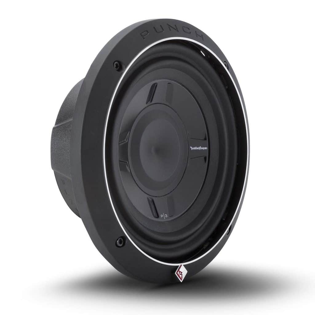 Rockford Fosgate P3SD2-8 Punch Series Shallow Mount Car Subwoofer