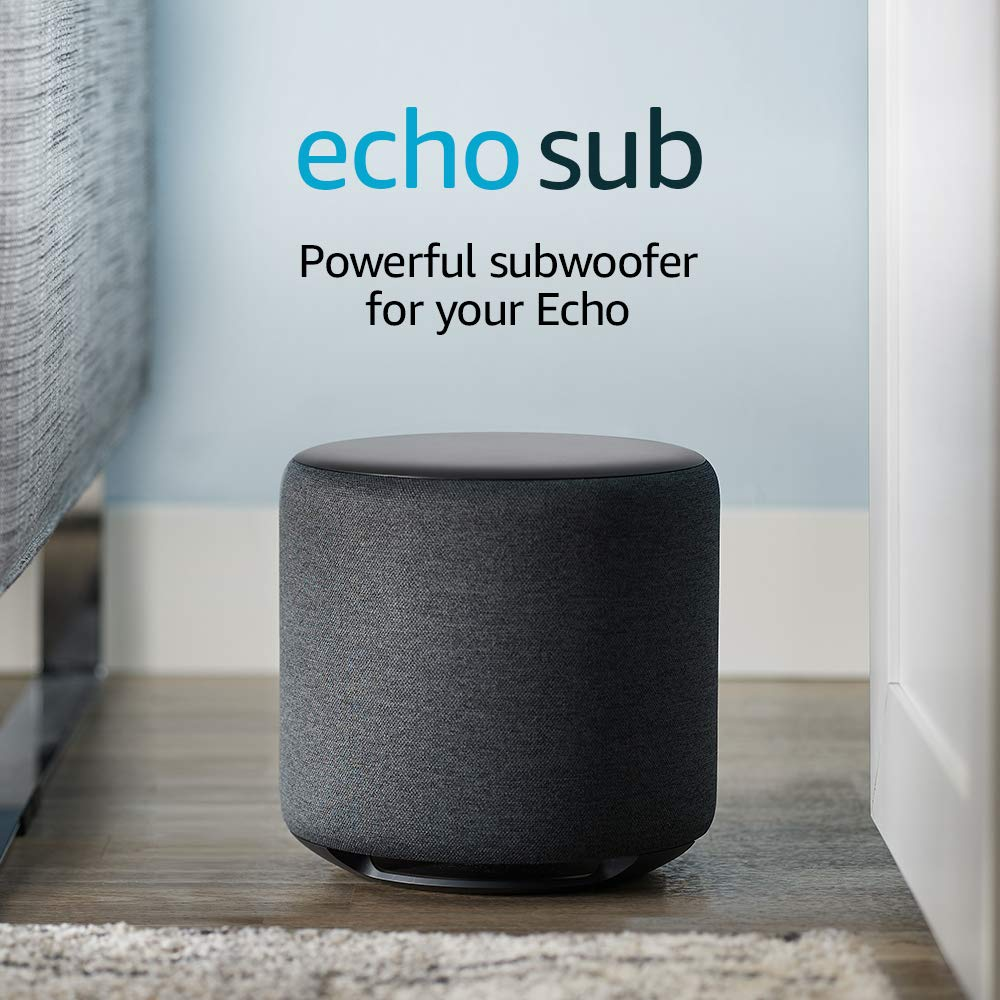Echo Sub - Powerful subwoofer