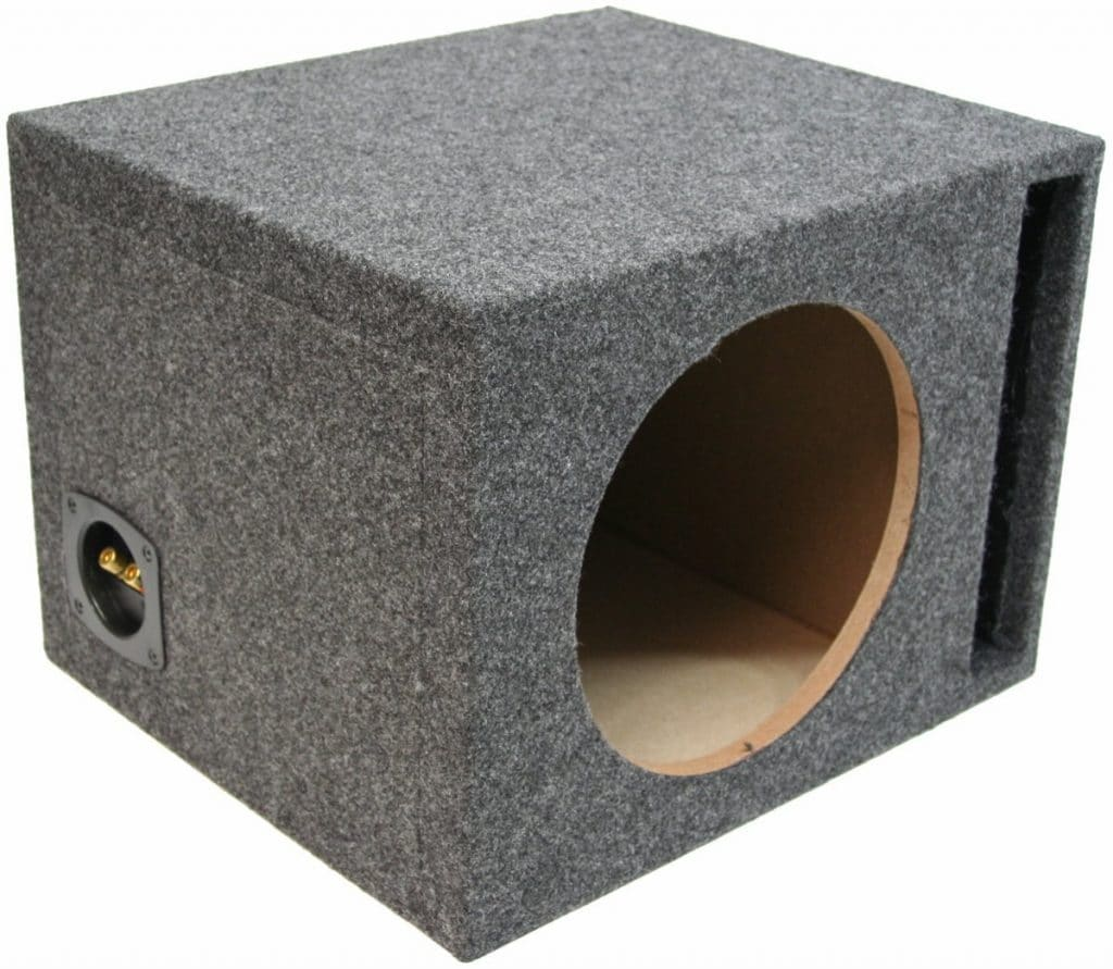 "ASC Single 12"" Subwoofer Enclosure"
