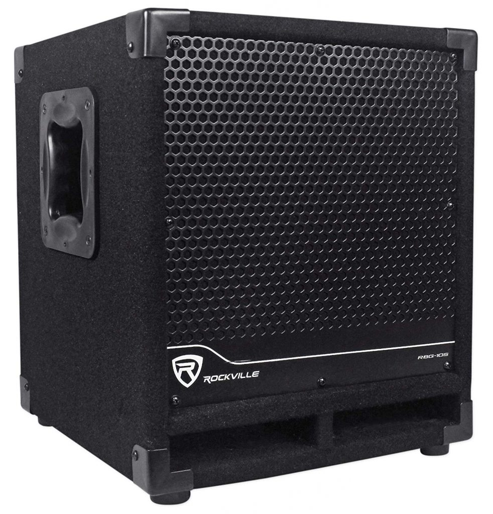 Rockville Bass Active Powered Subwoofer
