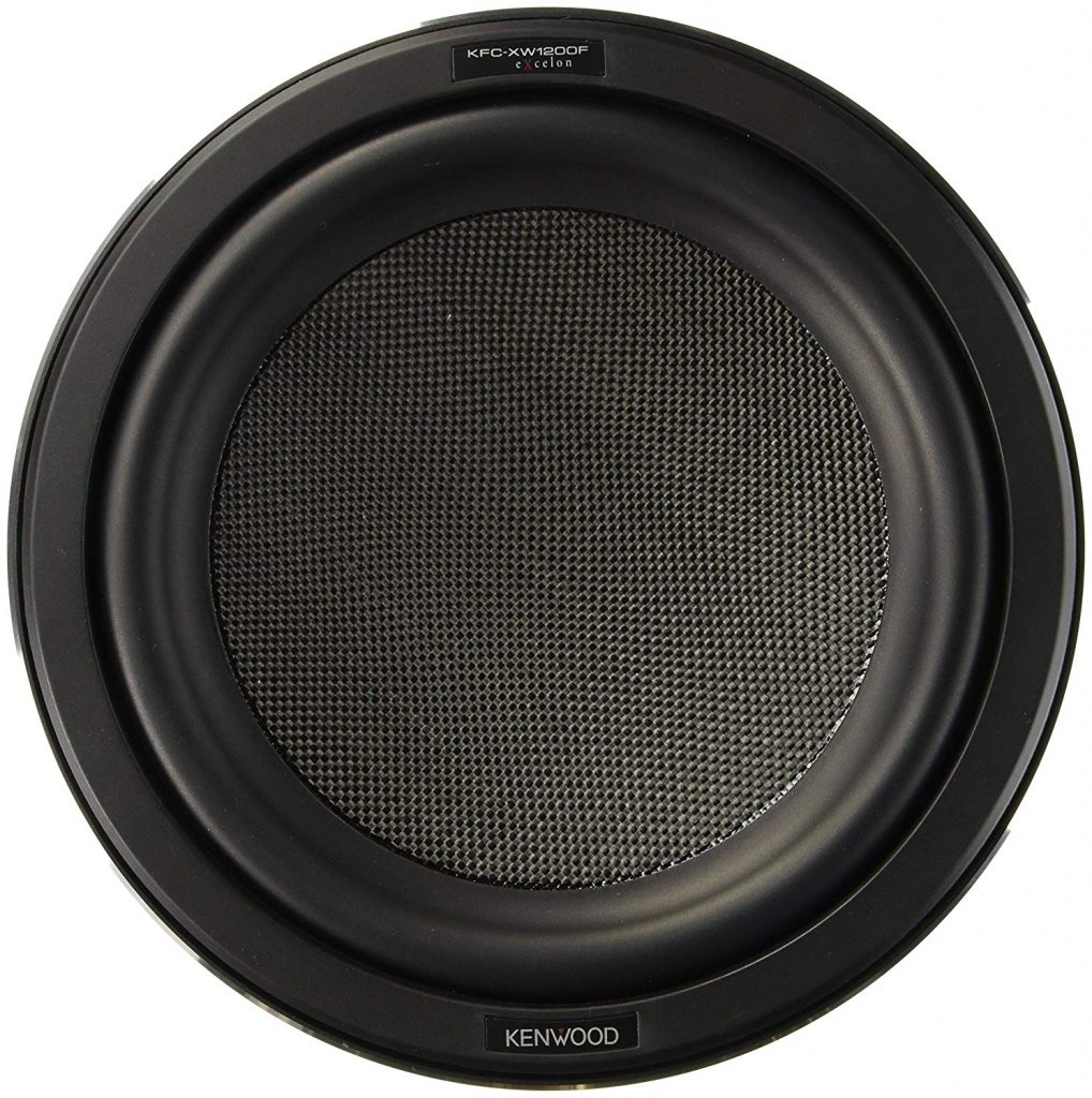 Kenwood Excelon KFC-XW1200F - Shallow Mount Subwoofer