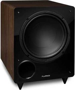 Fluance DB10W 10-inch Low Frequency Powered Subwoofer for Home Theater